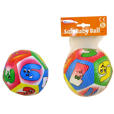 SOFT BABY BALL 13CM