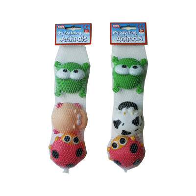 3PCS SQUIRTING ANIMALS (2 ASSTD)