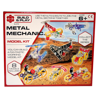 METAL MECHANICS 8 PCS SET