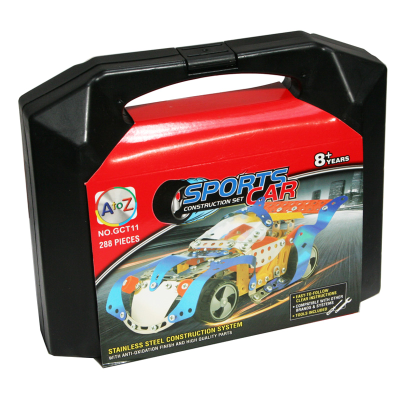 288PC SPORTS CAR KIT IN CARRY CASE