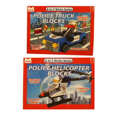 BLOCKS HELICOPTER / TRUCK 2 AST