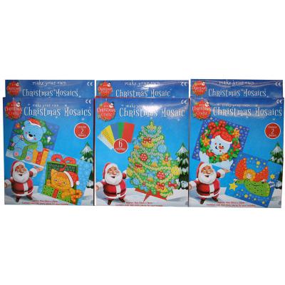 CHRISTMAS MOSAIC (3 ASSTD)