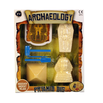 ARCHEAOLOGY PYRAMID DIG SET 3PCS