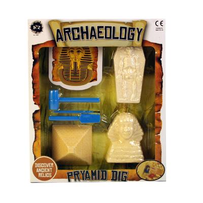 ARCHEAOLOGY PYRAMID DIG SET 3PCS