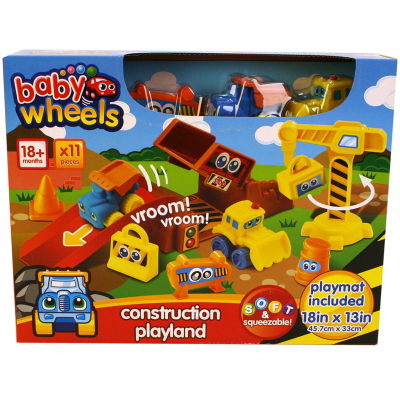 BABY WHEELS CONSTRUCTION PLAYLAND
