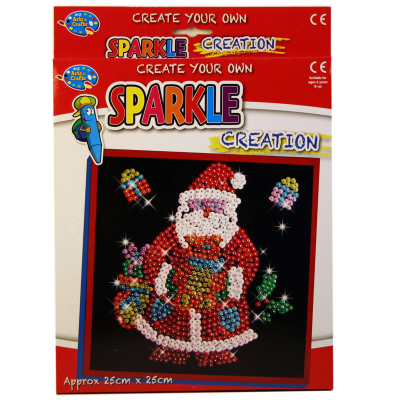 SPARKLE CREATION SANTA