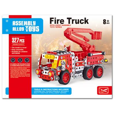 METAL MECHANIC FIRE ENGINE 327PCS