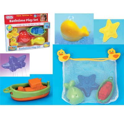 BATHTIME PLAY SET (2 ASSTD)(N)