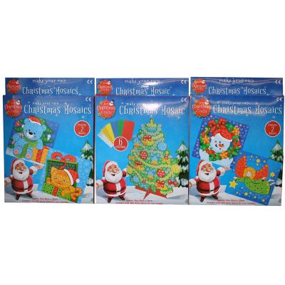 CHRISTMAS MOSAIC 3 ASSTD