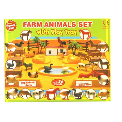 FARM ANIMALS PLAY SET