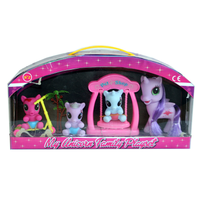 UNICORN FAMILY PLAYSET
