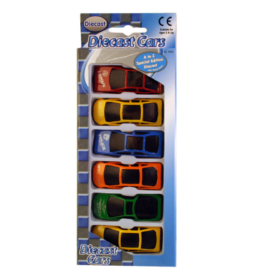DIECAST CAR 6PCS SET