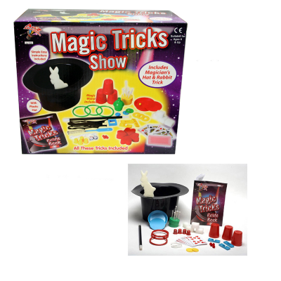 MAGIC TRICK SET WITH HAT