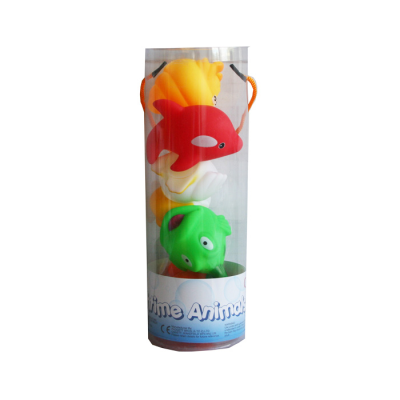 5PCS BATH ANIMALS IN TUBE