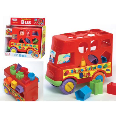 PUSH ALONG BUS SHAPE SORTER