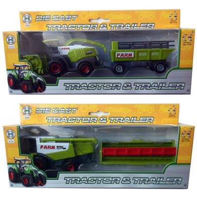 DC FARM TRACTOR WITH HARVESTER 2 ASSTD
