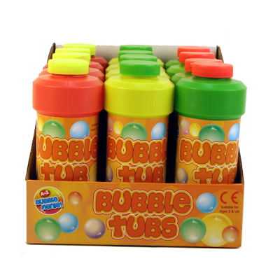 BUBBLE TUBS 473ML IN CDU (3 ASSTD)