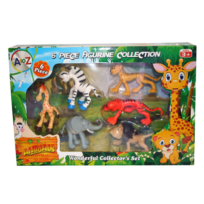 BABY WILD ANIMALS 6PCS