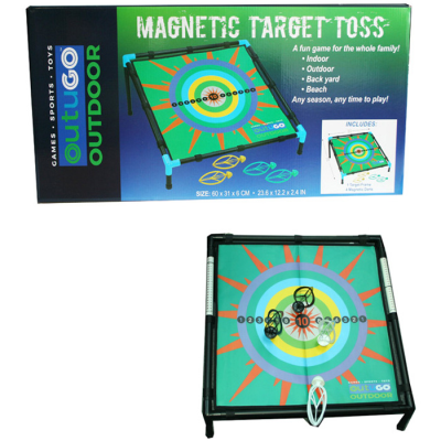 MAGNETIC TARGET TOSS