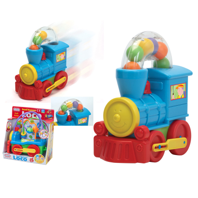 PULL ALONG BALL BLOWING LOCO(N)