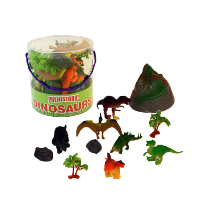 DINOSAURS IN TUB