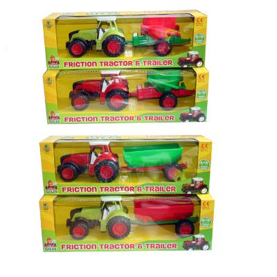 FARM TRACTOR W/TRAILER 4 ASSTD