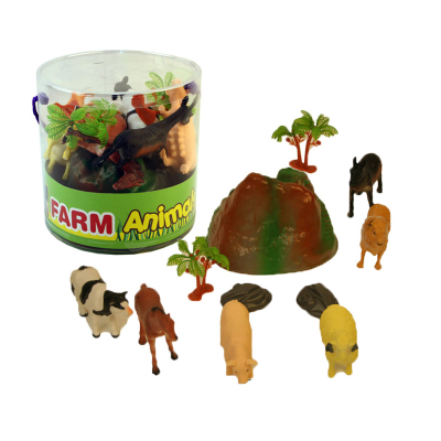 FARM ANIMALS IN TUB