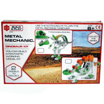 METAL MECHANICS DINOSAUR KIT 2 ASSTD