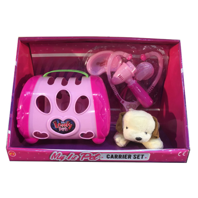 MY PET WITH CARRIER PLAYSET LGE
