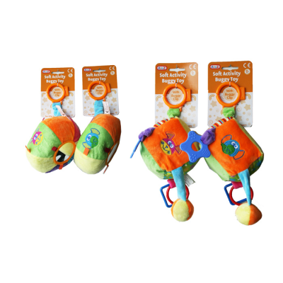SOFT ACTIVITY BUGGY TOY (4 ASSTD)