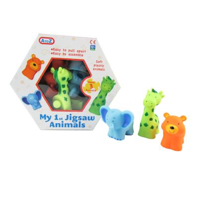 3PCS ANIMAL PUZZLE