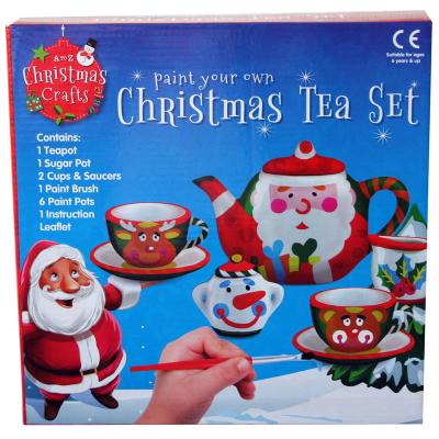 PYO CHRISTMAS TEA SET