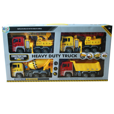 CONSTRUCTION VEHICLES 4PCS