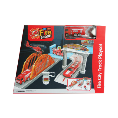 FIRE CITY TRACK PLAYSET