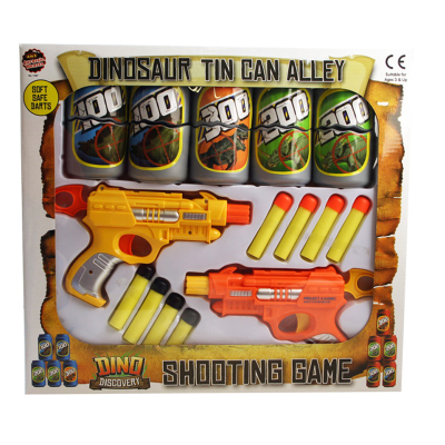 DINOSAUR TIN CAN ALLEY GAME