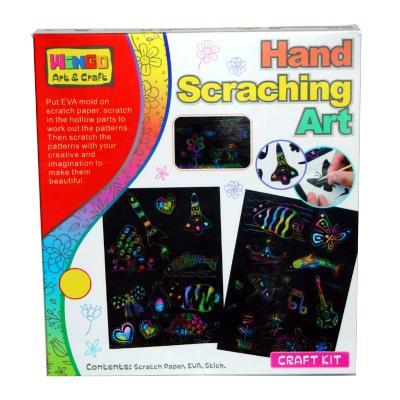SCRATCH ART 4PCS