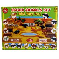 SAFARI ANIMALS PLAY SET