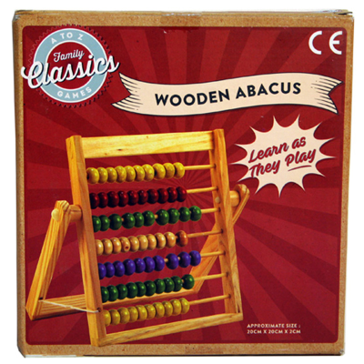WOODEN ABACUS (MED)