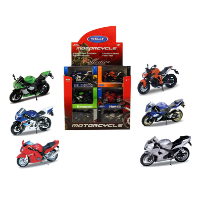 DC  1:18 MOTORCYCLE (09060)