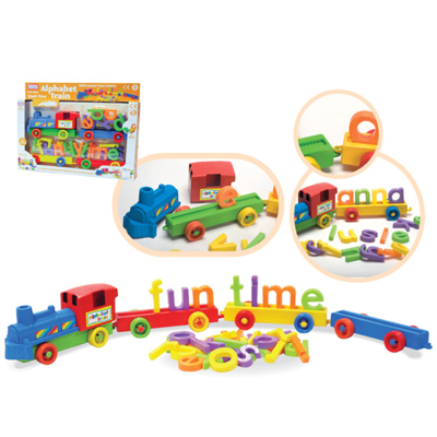 ALPHABET TRAIN SET LGE (O)