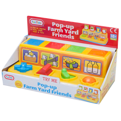 POP UP FARMYARD FRIENDS (N)