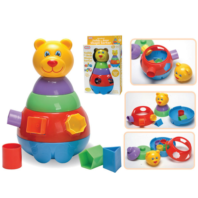 TEDDY BEAR SHAPE SORTER (O)