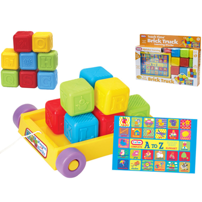 BRICK TRUCK WITH BLOCKS (O)
