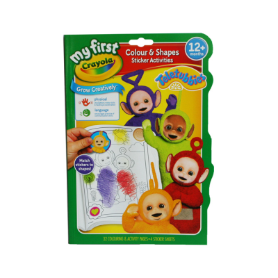 MY 1ST CRAYOLA - TELETUBBIES
