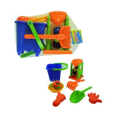 BEACH PLAYSET WITH WATER WHEEL