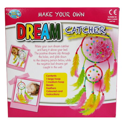 CREATE YOUR OWN DREAM CATCHER