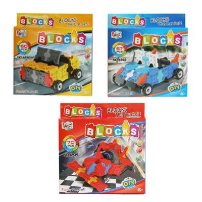 3D RACER BLOCKS 3 ASSTD