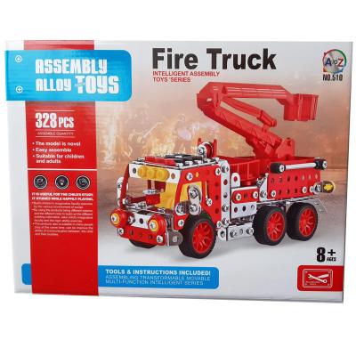 METAL MECHANIC FIRE ENGINE 328PCS