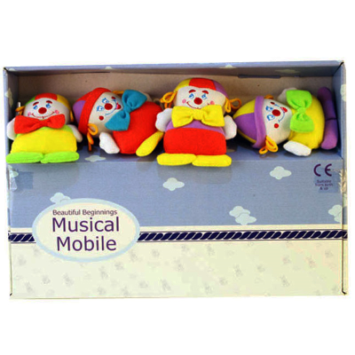 HAPPY CLOWN - MUSICAL MOBILE