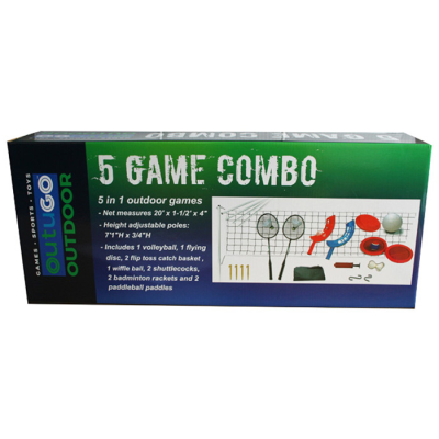 5 IN 1 OUTDOOR GAMES SET